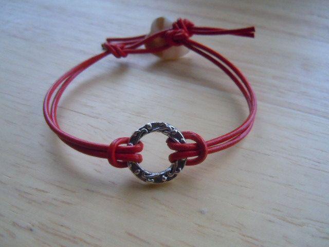 Good Karma Symbol Yoga Bracelet Peace Love Positive 700 Via