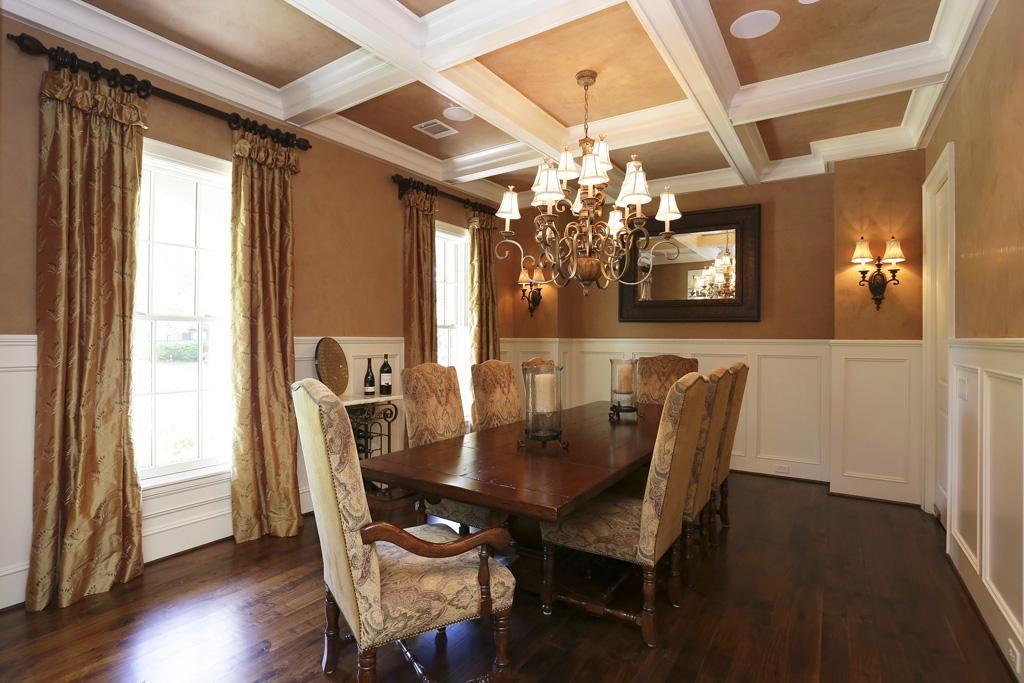The Wonderful Dining Room Boasts Walnut Floors 53