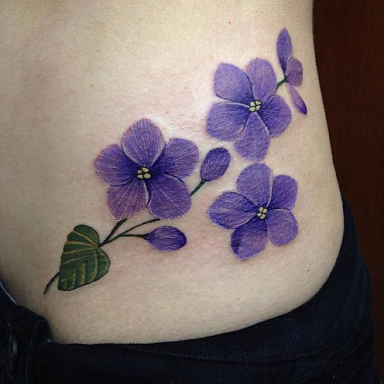 Violet Tattoos by pacotatuaria