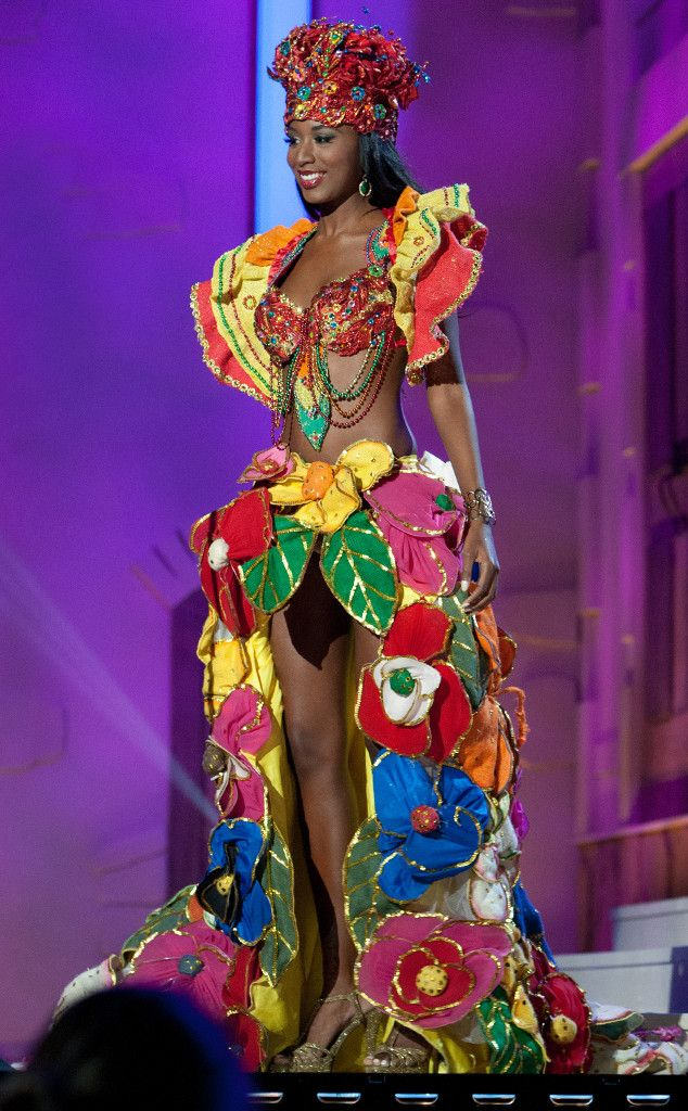 Miss Haiti from 2014 Miss Universe National Costume Show