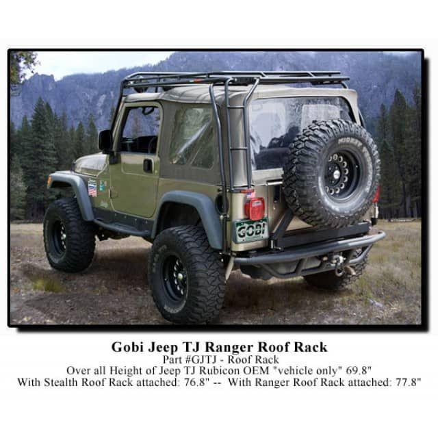 Gobi Jeep Wrangler Tj Ranger Roof Rack Jeep Wrangler Tj Jeep Wrangler Jeep