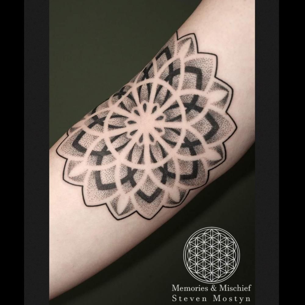 A full-sleeved Japanese styled tattoo with lotus flowers as the focal theme.#sharing #mandaladrawing #artist #geometrictattoo #mandalapassion,#Award-winningTattoos