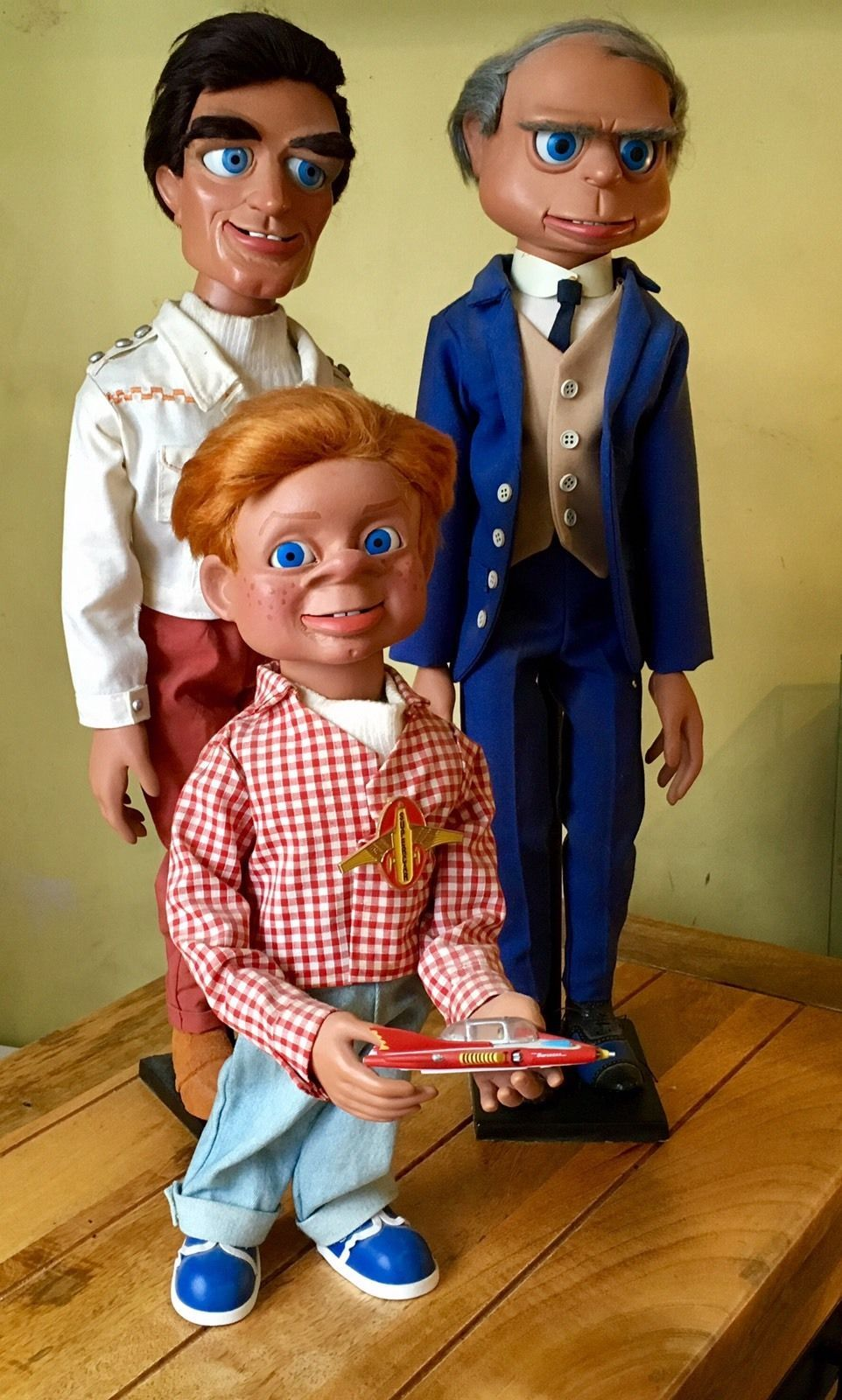 Details About Gerry Anderson Puppets Supercar Tv Show Supermarionation Marionette Jimmy 1960s Toys Super Cars Puppets Tv Shows