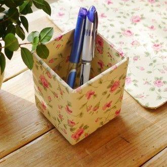 Office Storage The Empty Box Company Pen Pot Keep those pens