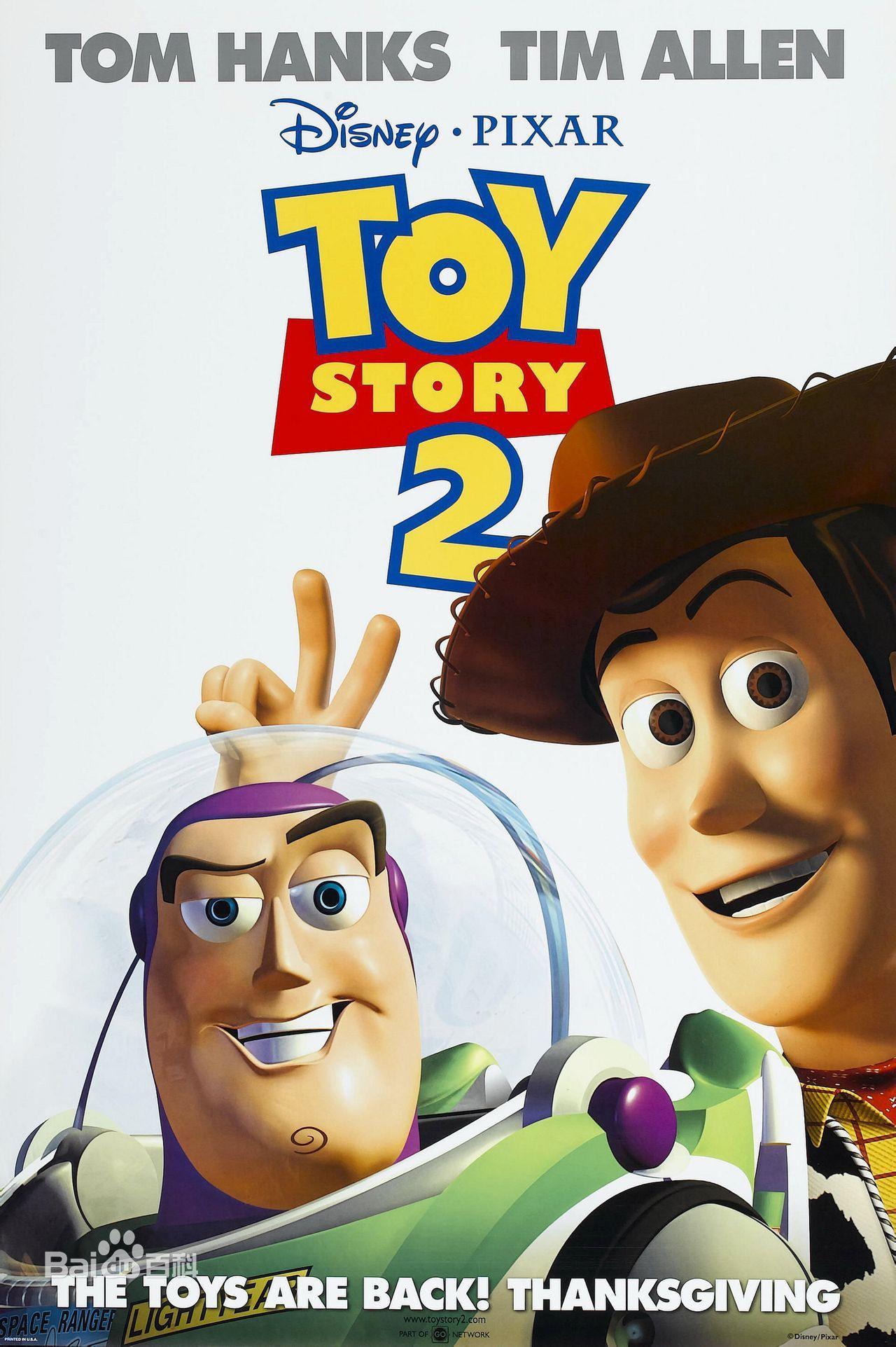 Toy Story 2 J Lasseter A Brannon L Unkrich Filmes Pixar