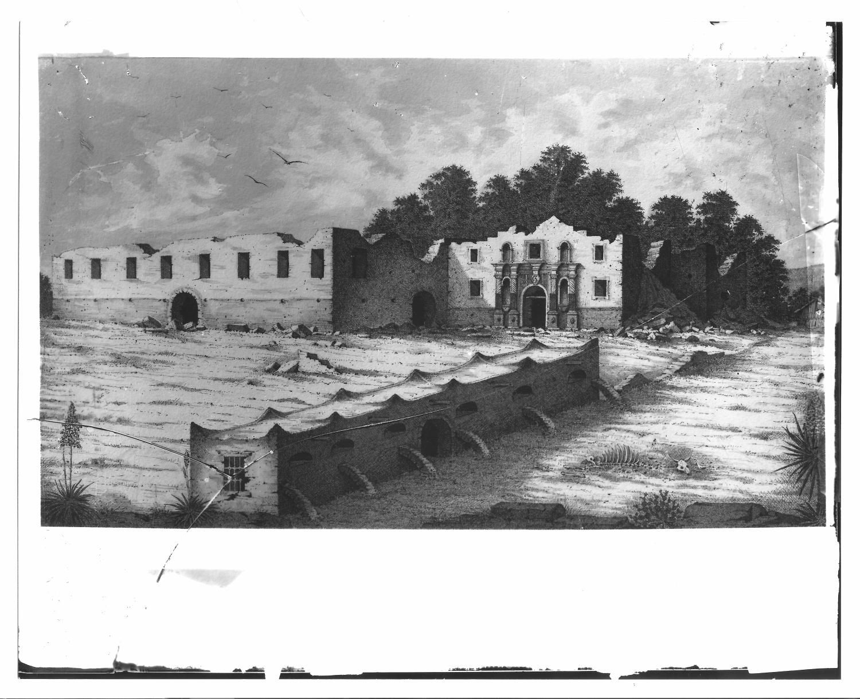 The Alamo illustration - The Portal to Texas History ...