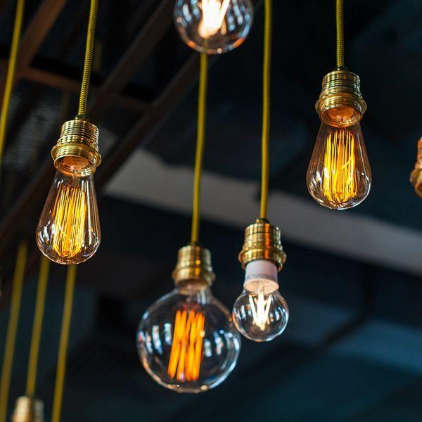 suspension et ampoules girard sudron distribu par tsee. Black Bedroom Furniture Sets. Home Design Ideas