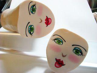 Wanda Shum Design -- textures and a face cane tutorial