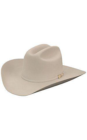 Stetson 100X El Presidente Silverbelly Felt Cowboy Hat  5cbf32924c0