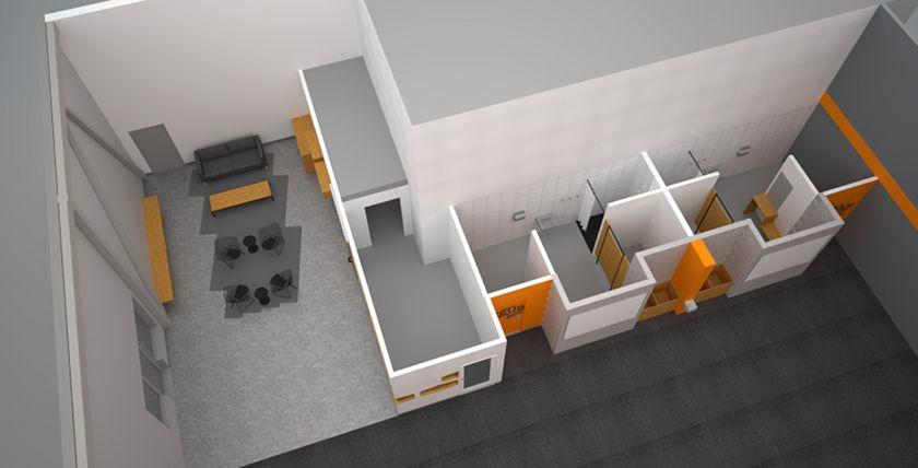 Crossfit 613 gym interior design 00 crossfit box design ideas pinterest for Interior decorating courses toronto