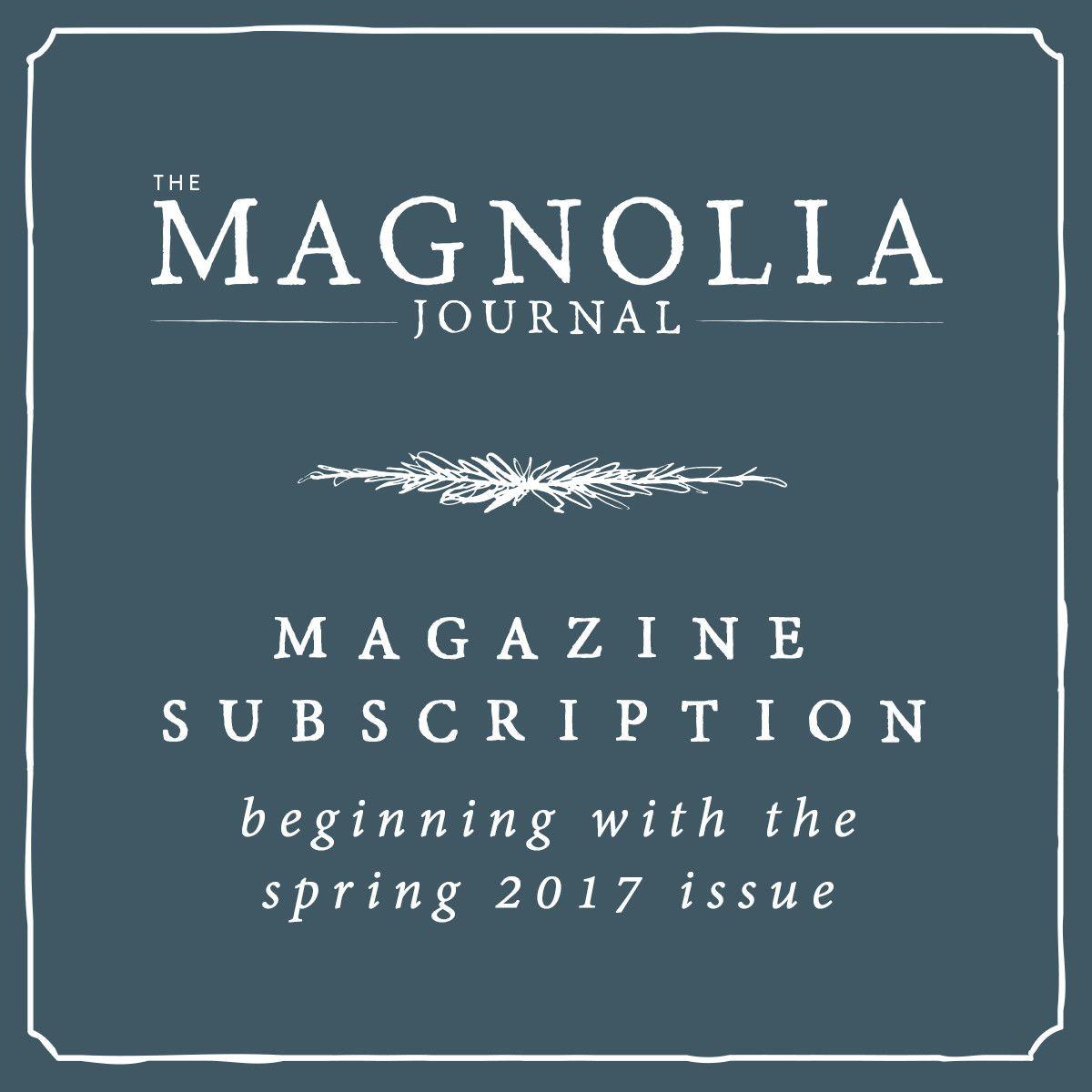 the magnolia journal subscription magnolia journal on wall street journal subscription id=86488