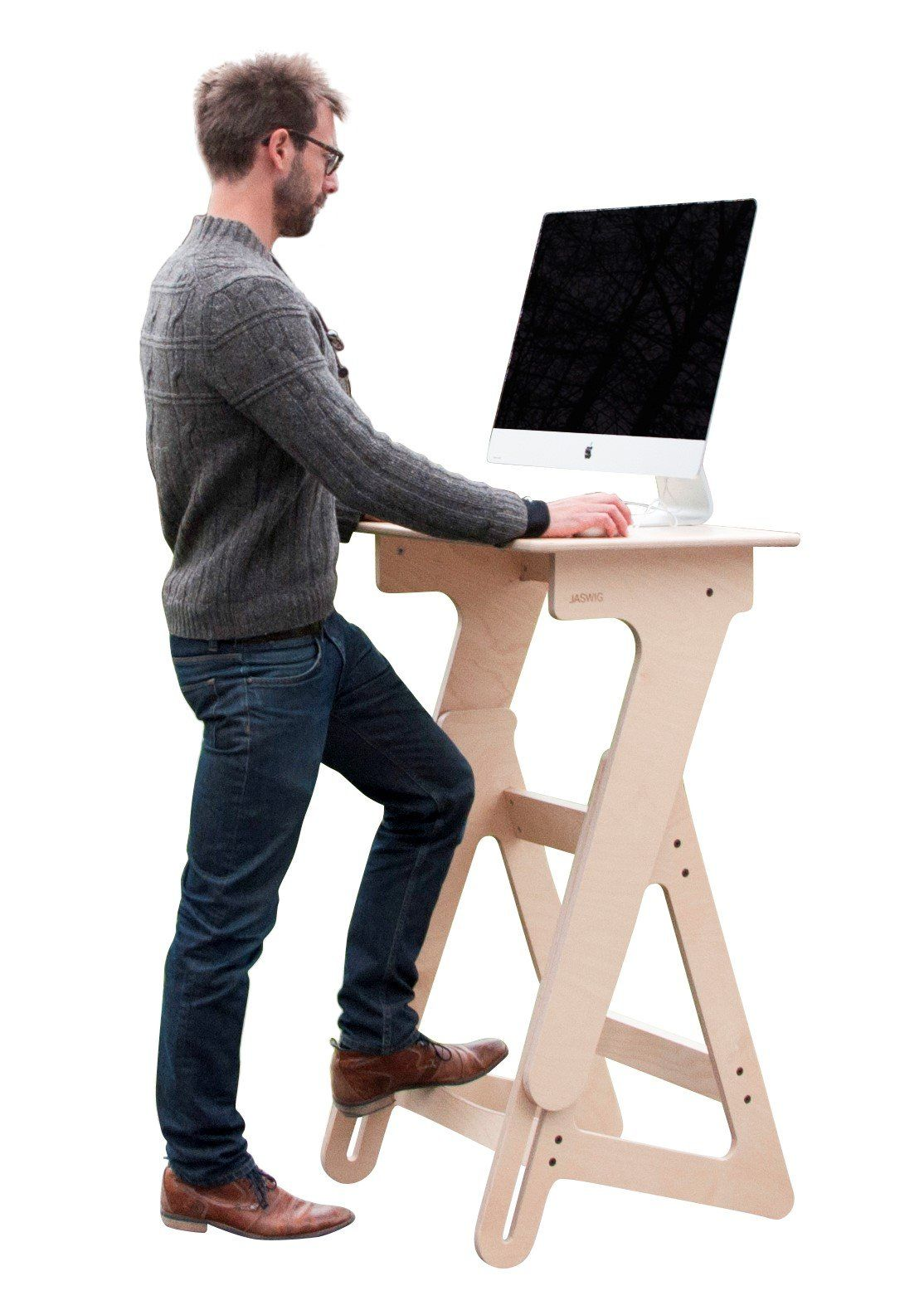 Superieur Adjustable Height Stand Up Desk, Wood Standing Desk For Office And Home,  Ergonomic Stand