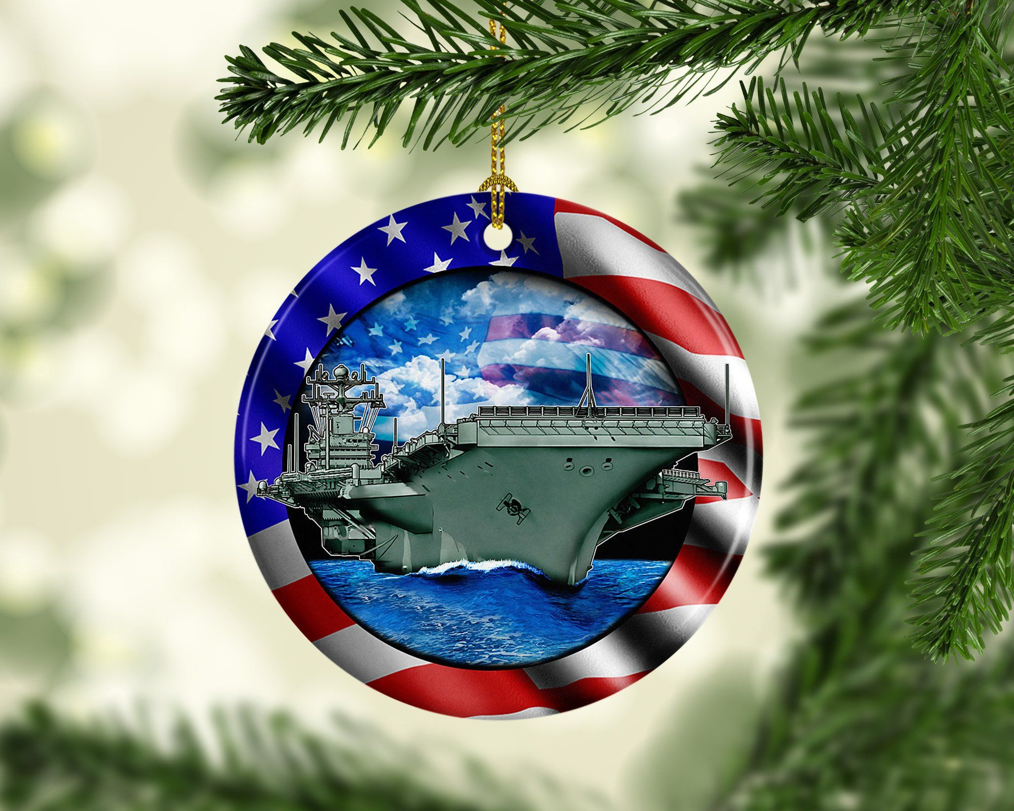 Porcelain Us Navy Custom Christmas Tree Ornament Usa Aircraft Etsy Custom Christmas Unique Christmas Trees Porcelain Christmas Ornaments