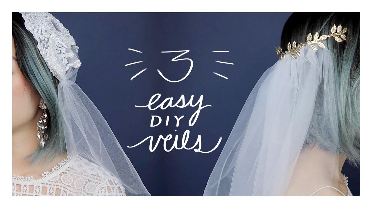 Diy wedding veils birdcage juliet cap tiaraheadband