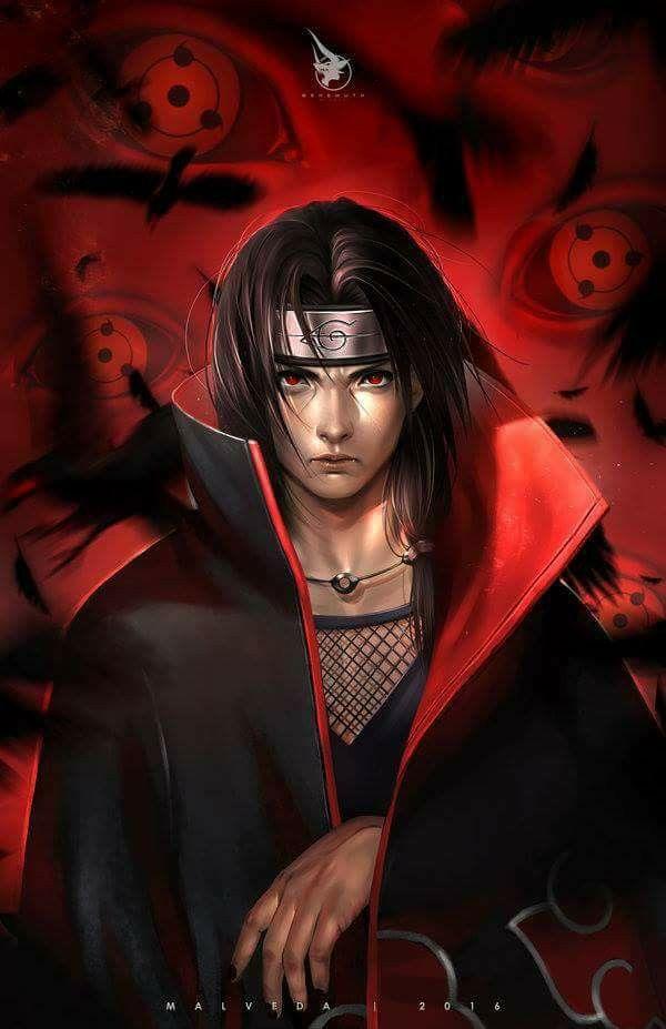 Itachi Uchiha Wallpaper Fanart Sharingan Itachi Uchiha Naruto Shippuden Sasuke Naruto Vs Sasuke