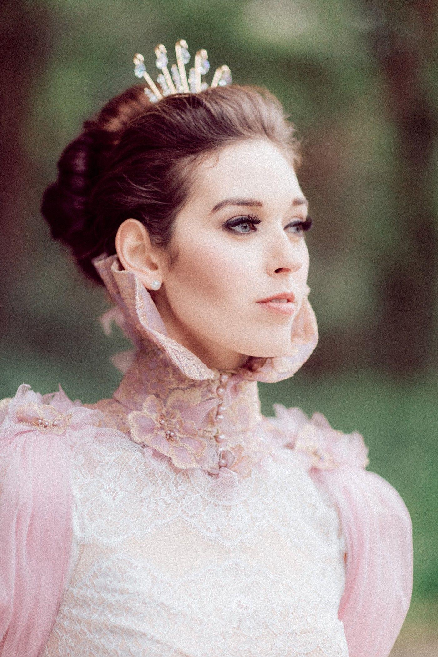 My Fair Lady Inspired Wedding Shoot - Regal Gown   Blush Pink ...