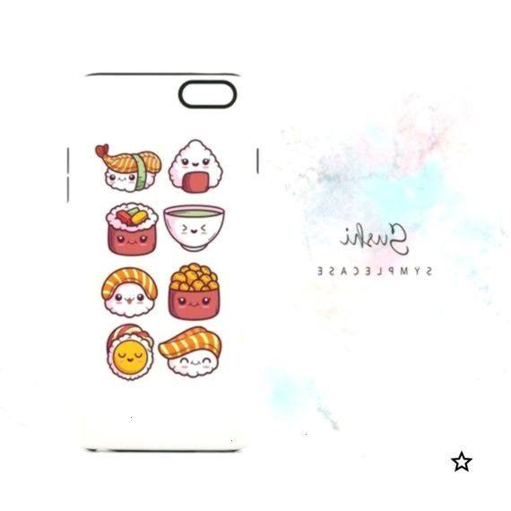 Kawaii Sushi Phone Case! Available for iPhone, Samsung, Google Pixel, LG an...,Cute Kawaii Sushi Ph
