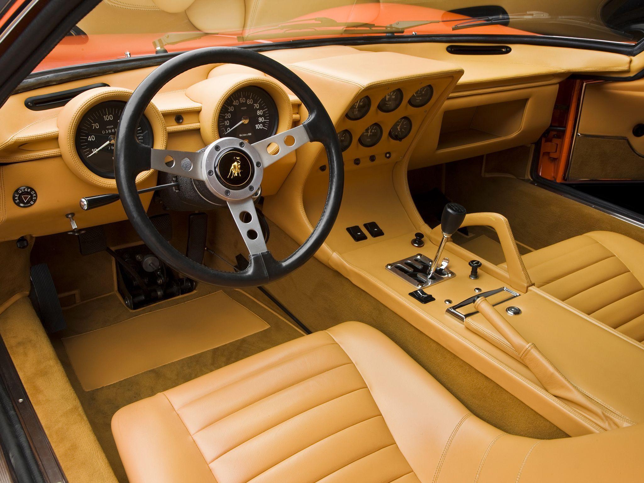 Lamborghini Miura Interior – Cars Wallpapers Hd