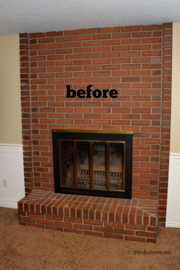 Diy Fireplace Mantel The Idea Room Diy Fireplace Makeover