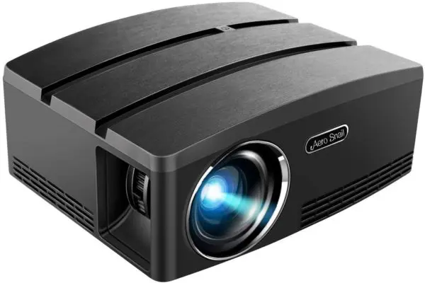 Aero Snail Android 6 0 Led Portable Projector 3 6 Top 10 Best Bluetooth Projector 2020 Product Rapid In 2020 Projector Portable Projector Mini Projectors