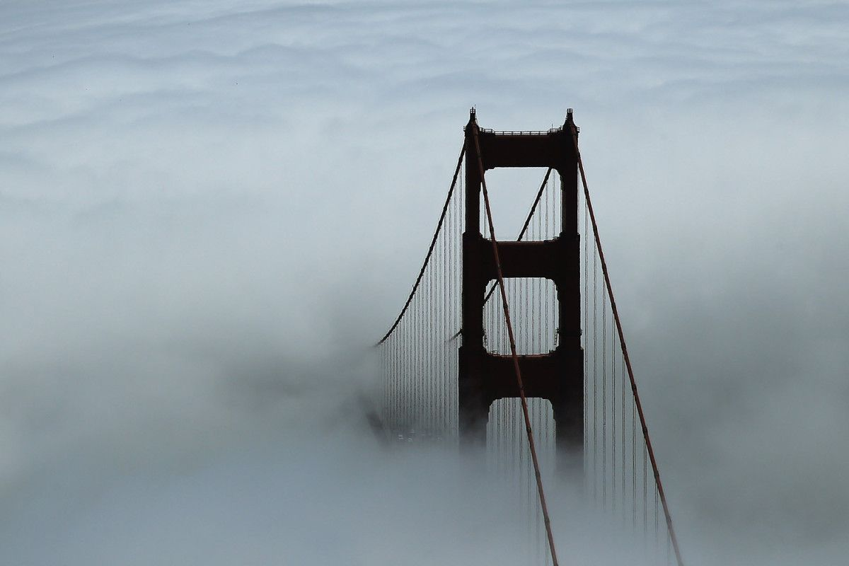 Lightbox Time San Francisco Golden Gate Bridge Pictures Of The Week North Tower