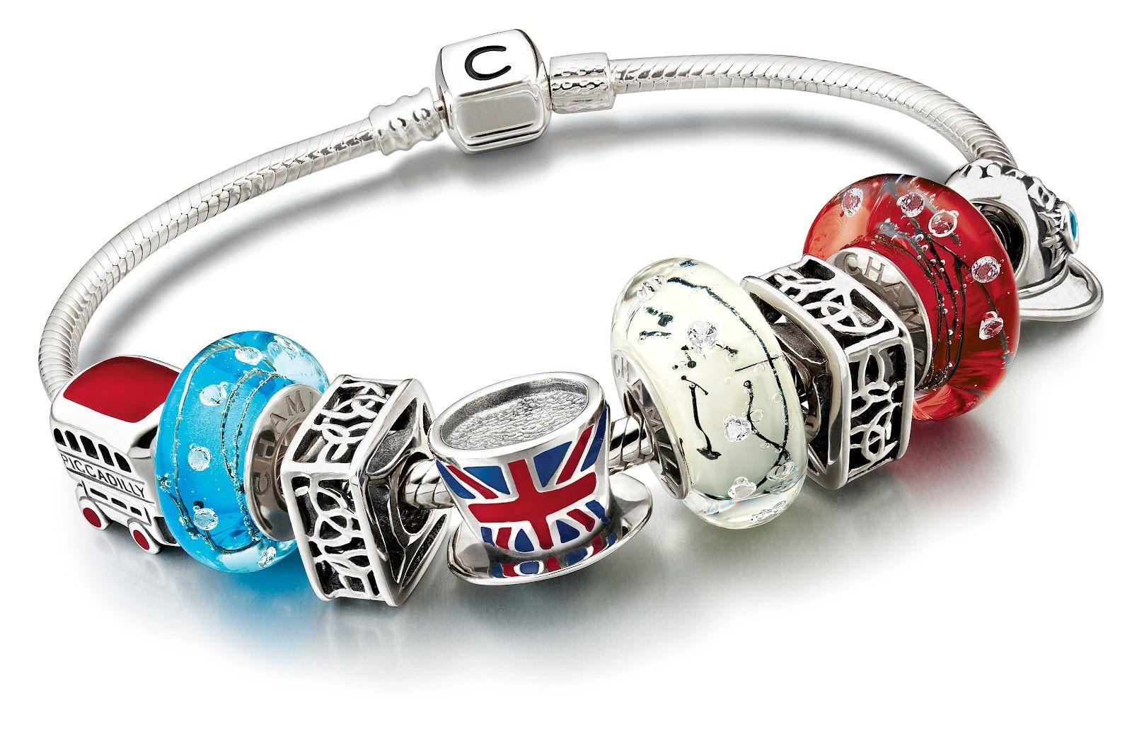 Official Pandora Charm Bracelet London 42602 Efc16