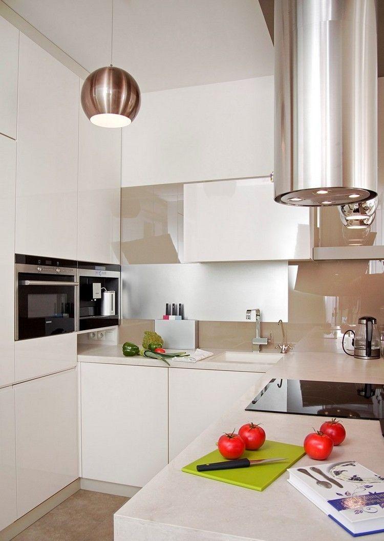 Kleine Küche Einrichten | Kleine Küche Optimal Einrichten Abbild Das ...
