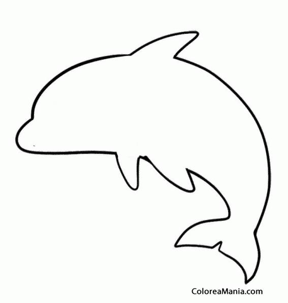 dibujos siluetas de animales | para imprimir, pintar y colorear de ...