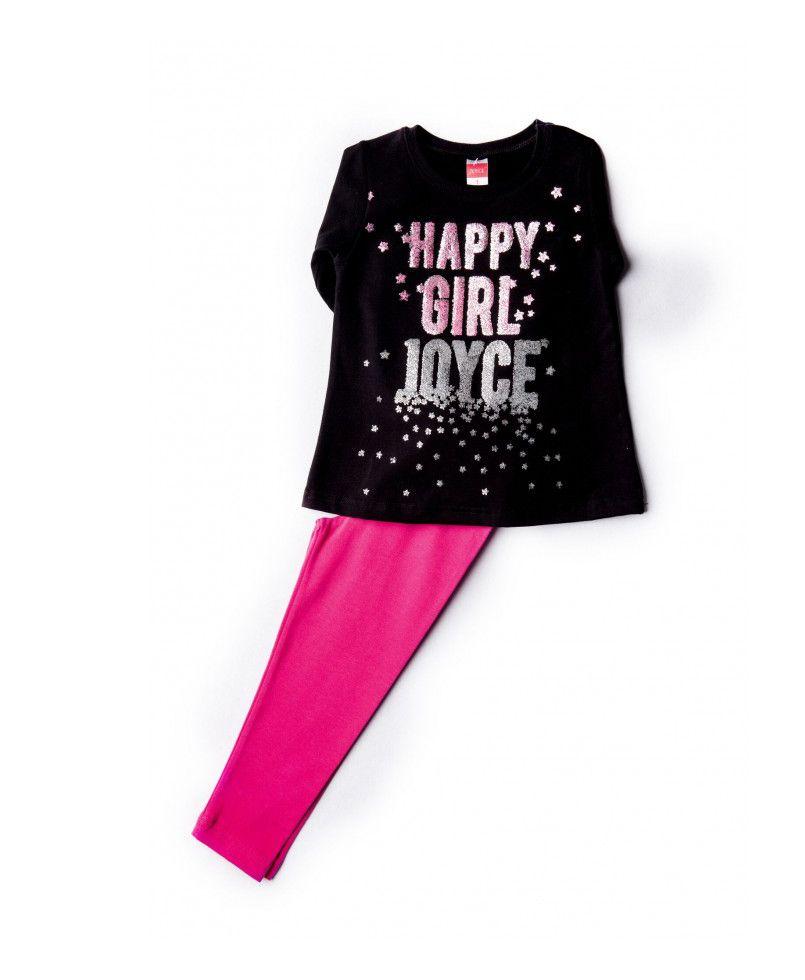 5e207922056f Σετ Μπλούζα Μαύρη   κολάν φούξια  παιδικά ρούχα  παιδικά σετ   σετ για κορίτσι  μπλούζα  κολάν