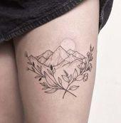 Photo of 40+ Ideas tattoo mountain landscape tat  40+ Ideas tattoo mountain landscape tat…