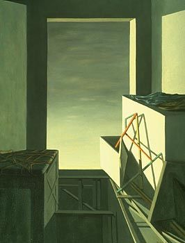 Painting by Kay Sage