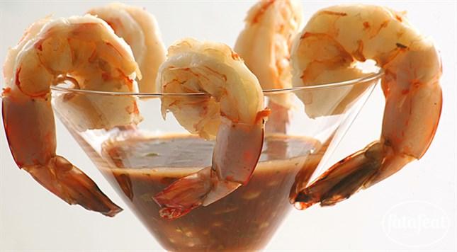 طريقة عمل كوكتيل الروبيان القريدس على طريقة أندرو ميتشل دارين الخطيب موقع فتافيت Food Snack Recipes Snacks
