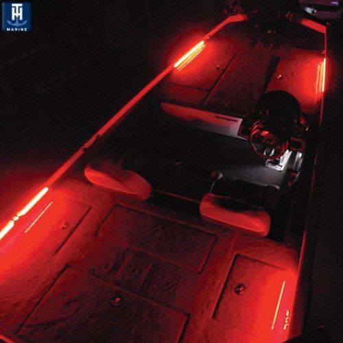 Led lighting kit for boats boat car caravan motor for Fishing boat lights