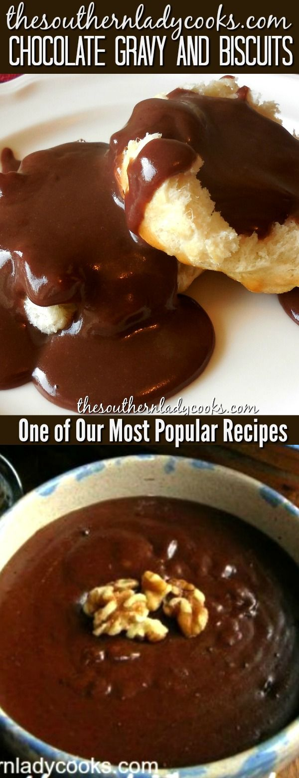 Photo of Chocolate gravy is an old-fashioned classic Southern recipe that has been around…