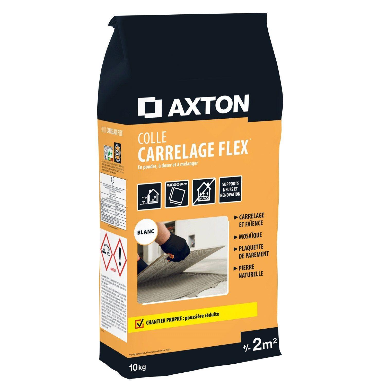 Colle Poudre Axton Flex Blanc 2m² 10kg En 2019 Mortier