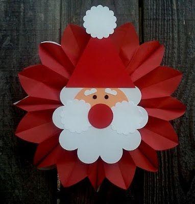 9 ideas para decorar en navidad con adornos de papel lodijoella manualidades colegio pinterest - Adornos navidad de papel ...