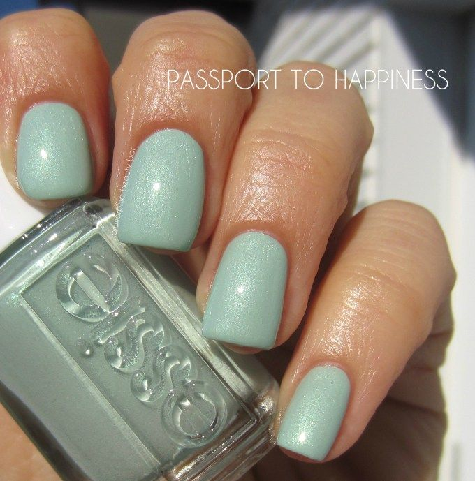 Essie passport ti happiness | Nails art! | Pinterest | Esmalte
