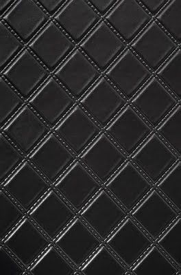 Black, quilted wallpaper-Phillip Jeffries | Fabric ...