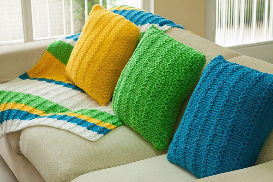 Manta e almofadas cores Brasil #receita #copadomundo #copa2014