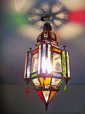 Artisanat Marocain Fabrique A Fes Et Marrakech Lustre Applique Plafonnier Neuf Moroccan Lanterns Moroccan Tiles Moroccan Lamp
