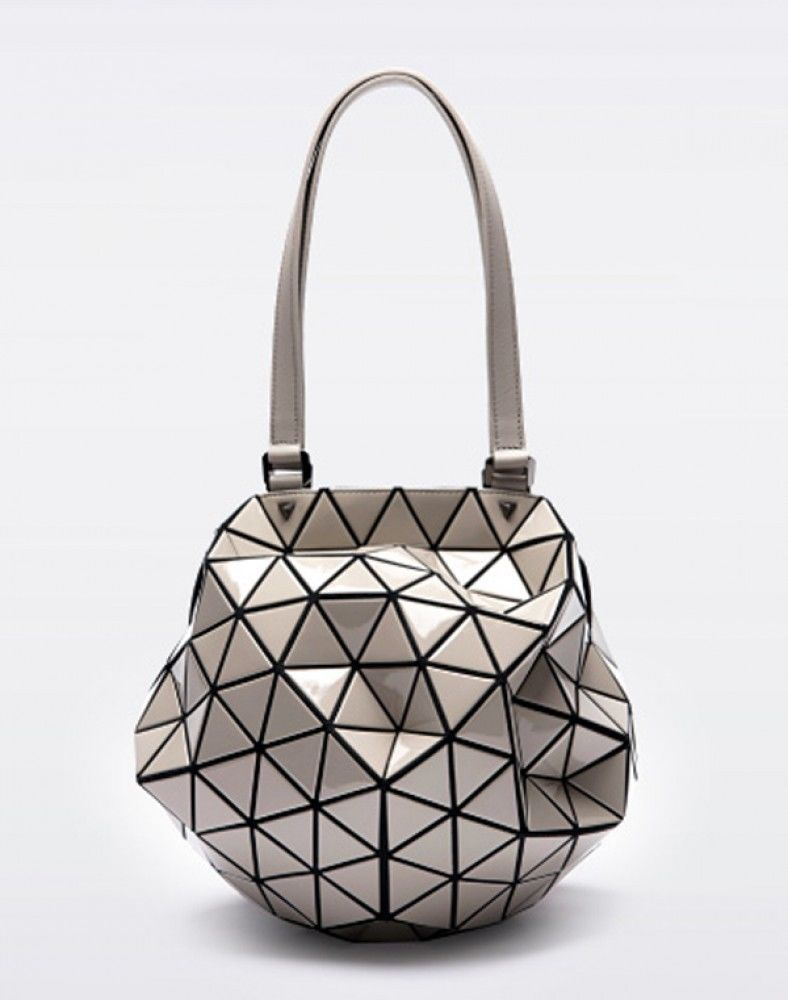 5e91f9be2e6f BAO BAO ISSEY MIYAKE PLANET 2Way Bag GRAY Baobao From Japan New   ISSEYMIYAKE  TotesShoppers