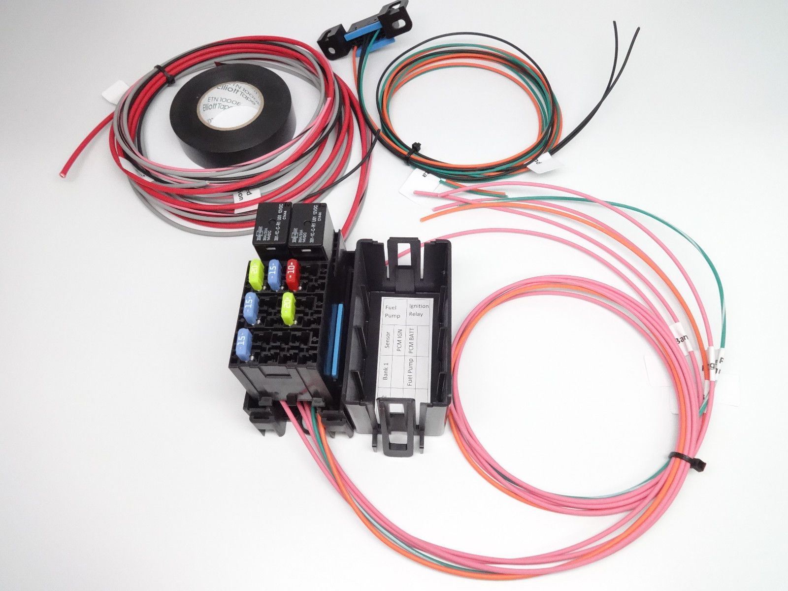 A9l Wiring Harness For Diy Free Diagram You Lq4 Swap Homemade Ltx Lsx Vortec Conversion Fuse Panel And Relay Block House Motorsport