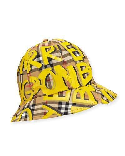 658c7721601 Burberry Men s Marker Graffiti Bucket Hat