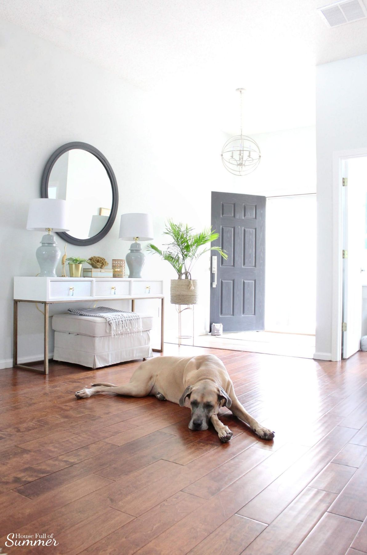 5 Items You D Never Guess I Found On Craigslist With Images Foyer Decorating Coastal Homes