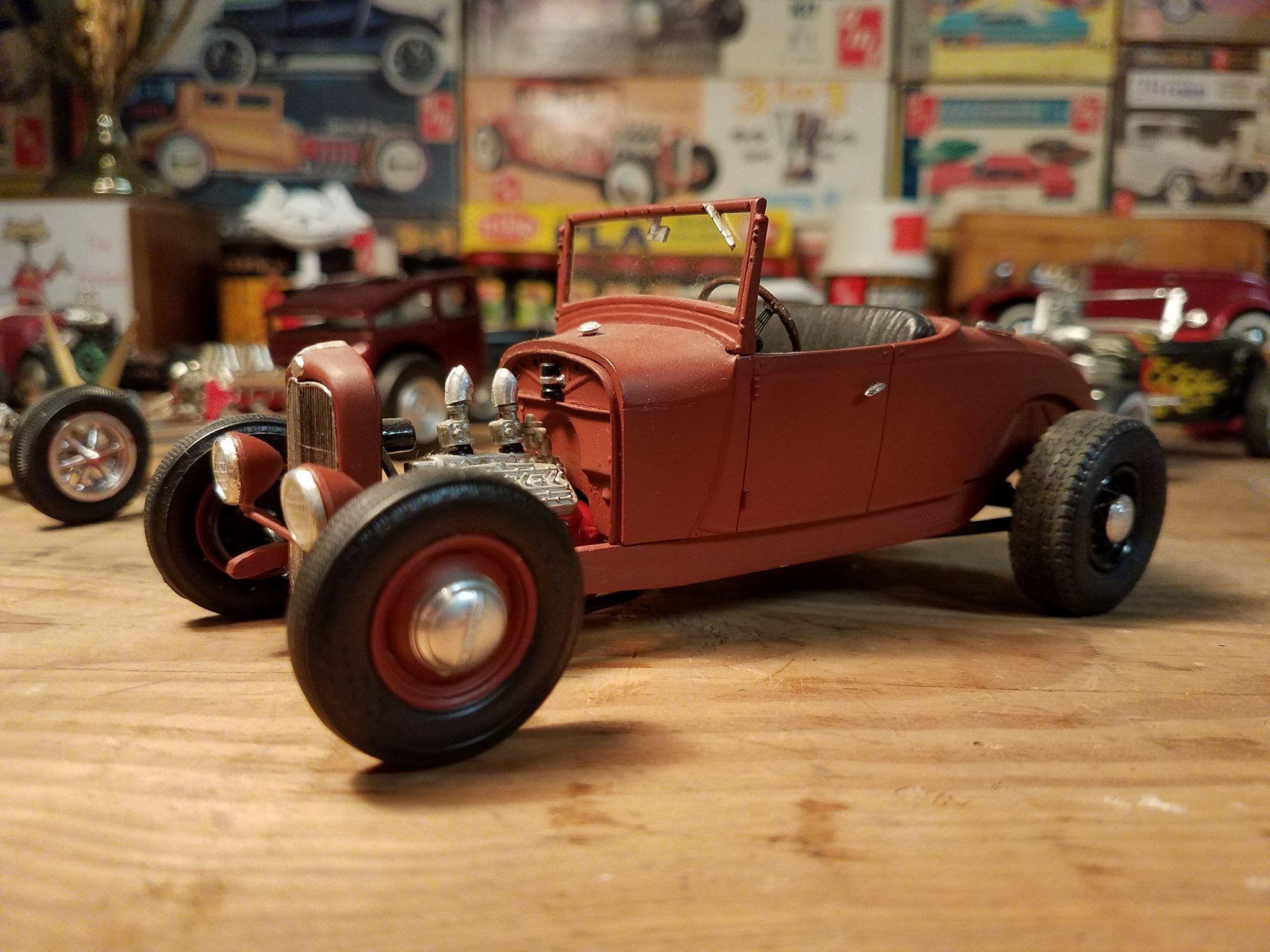 32 Ford Hot Rod | Scale Model Cars & Trucks | Pinterest | Model car ...