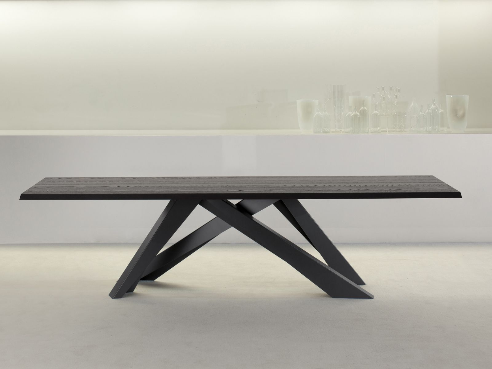 rechteckiger tisch big table by bonaldo design alain. Black Bedroom Furniture Sets. Home Design Ideas