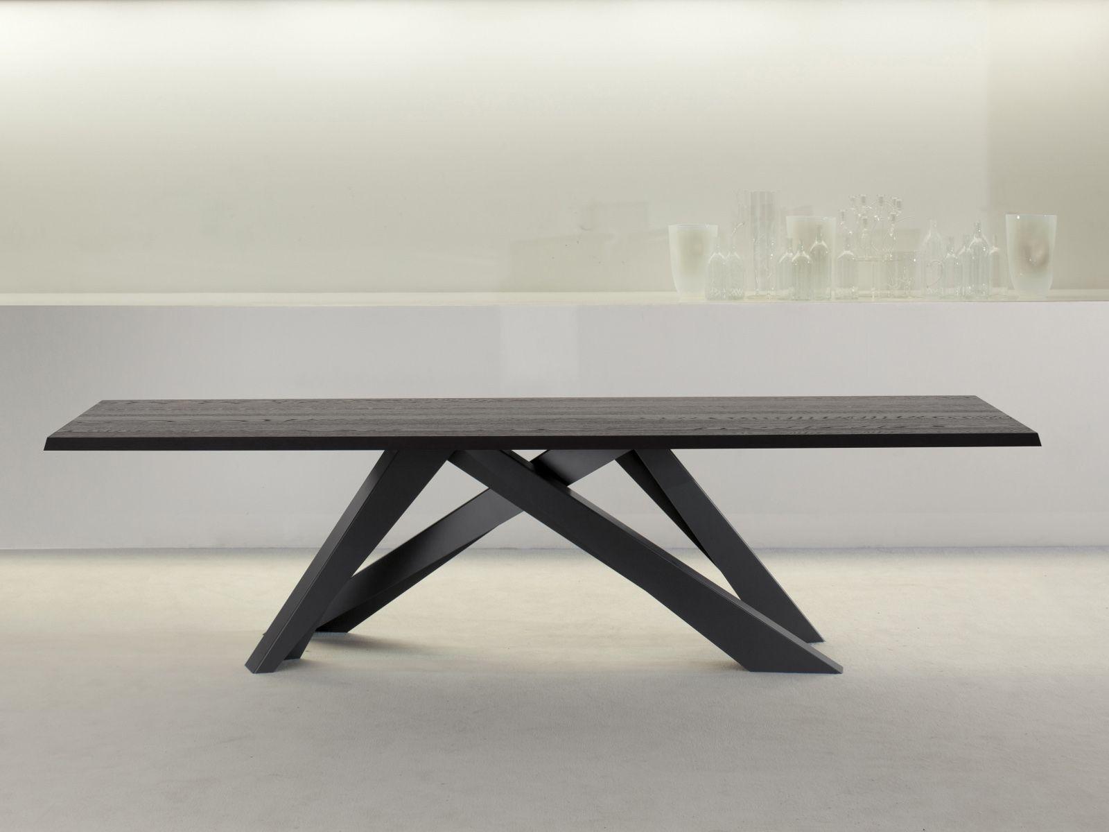 Tisch Modern rechteckiger tisch big table by bonaldo design alain gilles