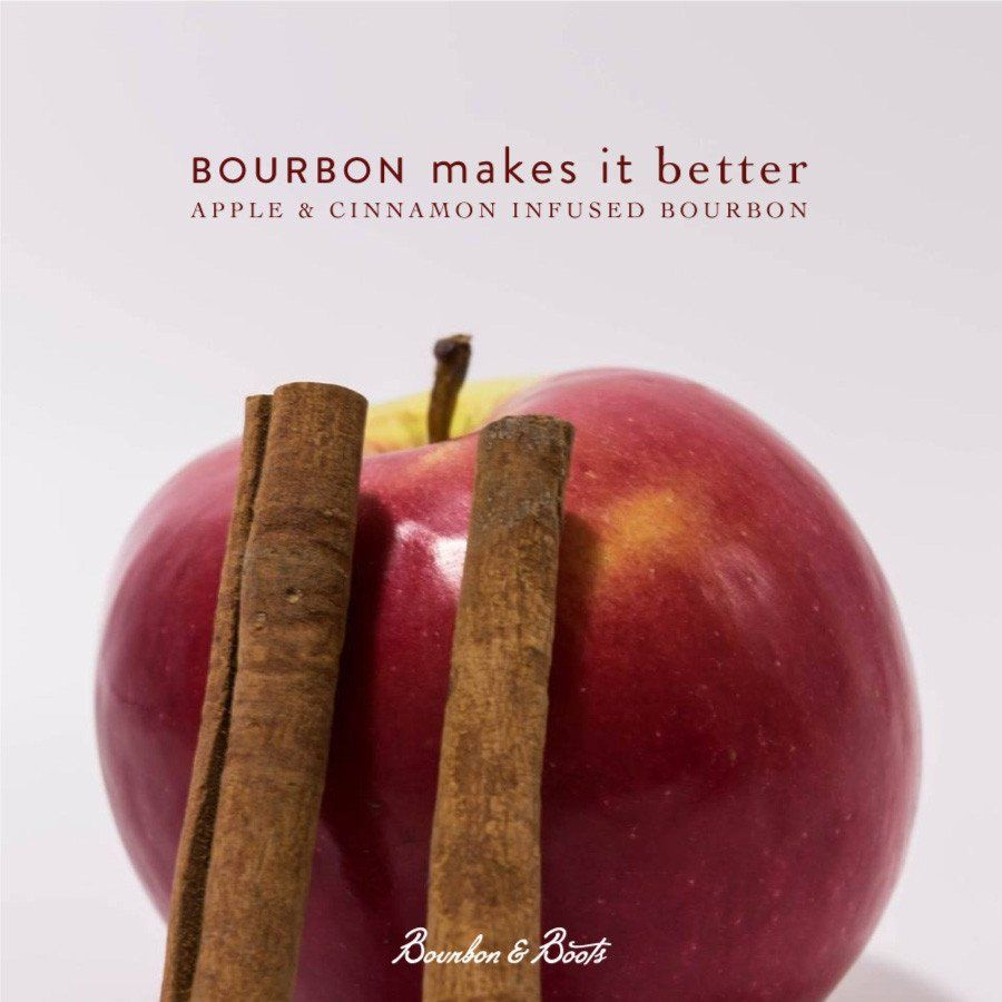 We started daydreaming about how to take happy hour a step further and blend two of our favorite things: autumn flavors and bourbon. And low and behold, today we discovered Apple and Cinnamon Infused Bourbon. http://bourb.in/bmbapple