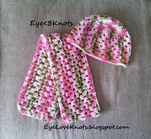 Womens Granny Square Scarf Free Crochet Pattern Granny Square