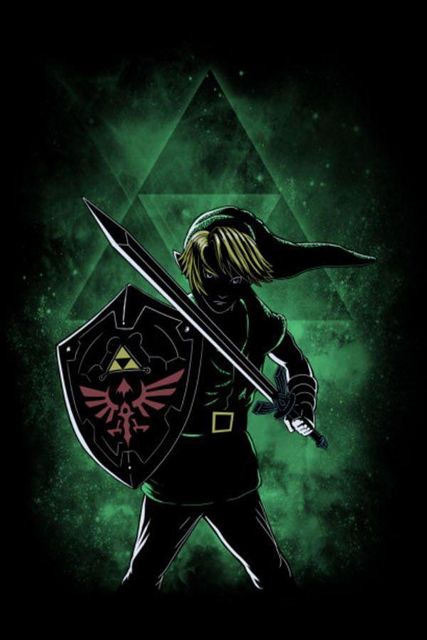 46 The Legend The Legend Of Zelda Metal Poster Metal Posters Legend Of Zelda Poster Prints